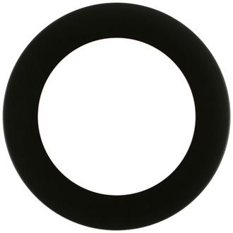 Avenue Round Frame # 862 - Matte Black