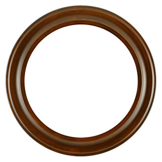 Messina Round Frame # 871 - Mocha