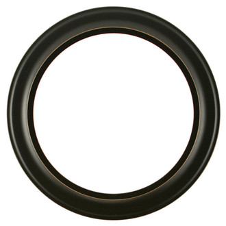 Messina Round Frame # 871 - Rubbed Black