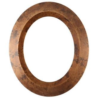 Veneto Oval Frame # 485 - Venetian Gold