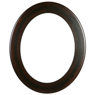 Cafe Oval Frame # 482 - Mocha