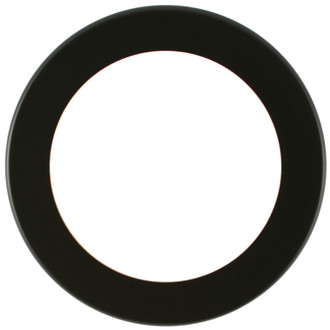 Avenue Round Frame # 862 - Rubbed Black