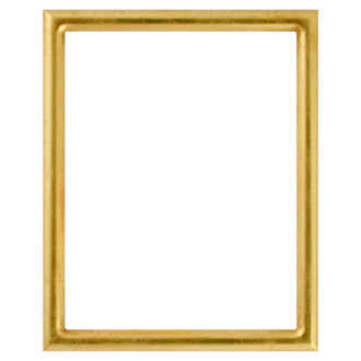 Pasadena Rectangle Frame # 250 - Gold Leaf
