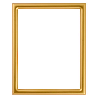Pasadena Rectangle Frame # 250 - Gold Spray
