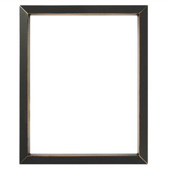 Regatta Rectangle Frame # 423 - Rubbed Black