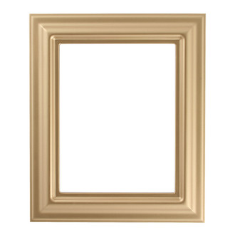 Lancaster Rectangle Frame # 450 - Gold Spray