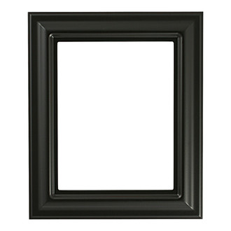 Lancaster Rectangle Frame # 450 - Matte Black