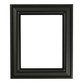 Lancaster Rectangle Frame # 450 - Matte Black
