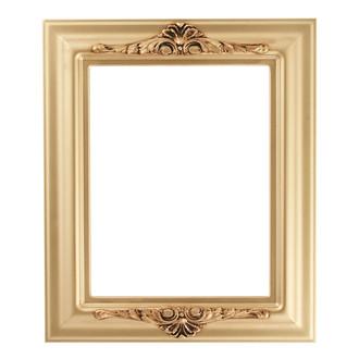 Winchester Rectangle Frame # 451 - Gold Spray