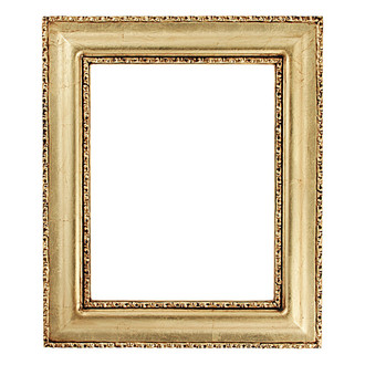 Somerset Rectangle Frame # 452 - Gold Leaf