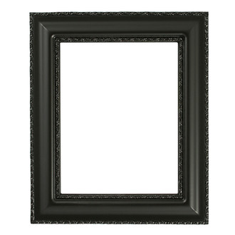 Somerset Rectangle Frame # 452 - Matte Black