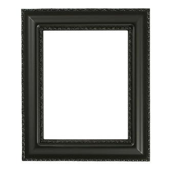 Somerset Rectangle Frame # 452 - Matte Black