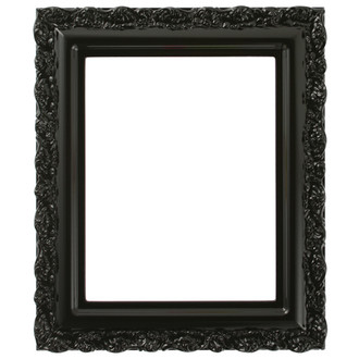 Venice Rectangle Frame # 454 - Gloss Black