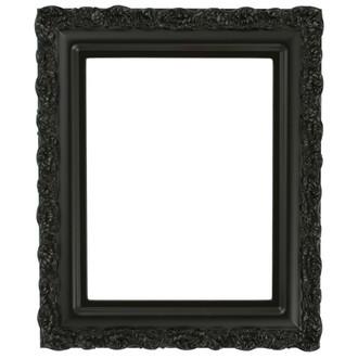 Venice Rectangle Frame # 454 - Matte Black