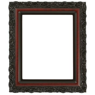 Venice Rectangle Frame # 454 - Vintage Cherry