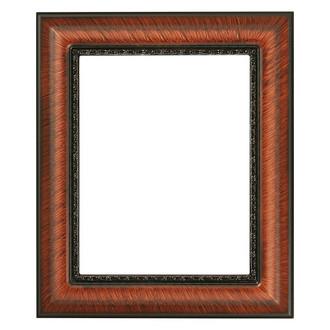 Chicago Rectangle Frame # 456 - Vintage Walnut
