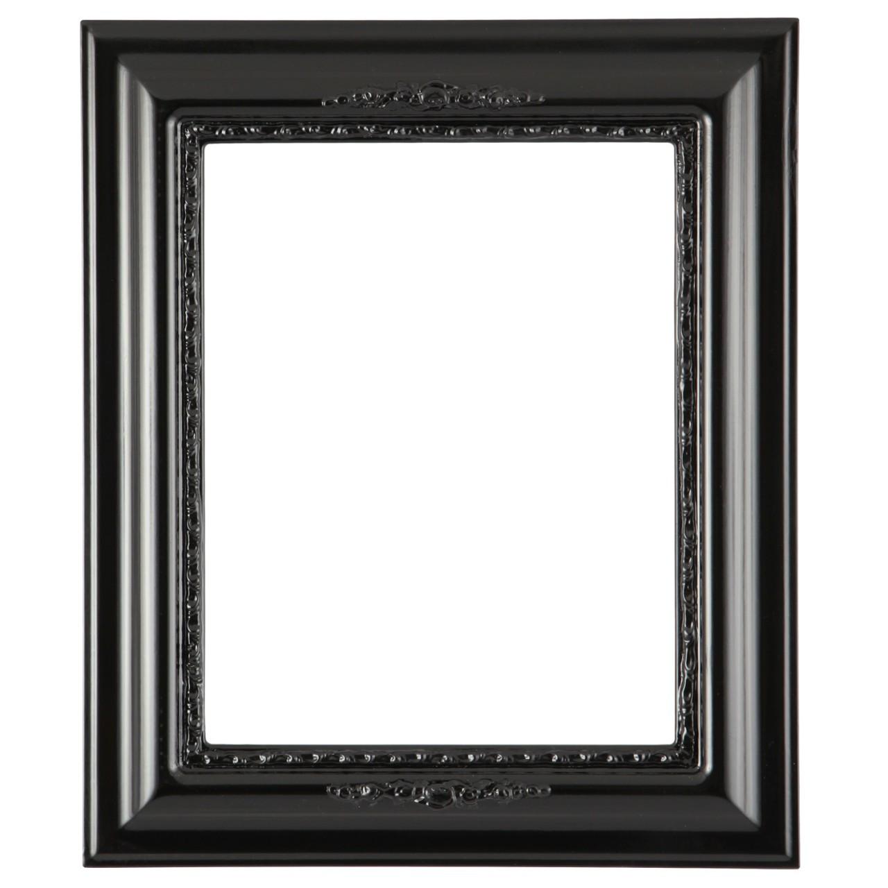 Frames Rectangle Frames Boston Rectangle Frame #457 - Gloss Black