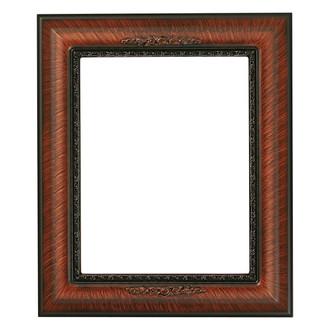Boston Rectangle Frame # 457 - Vintage Walnut