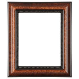 Heritage Rectangle Frame # 458 - Vintage Walnut