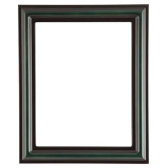 Philadelphia Rectangle Frame # 460 - Hunter Green