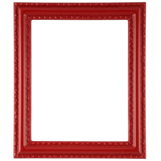 Dorset Rectangle Frame # 462 - Holiday Red