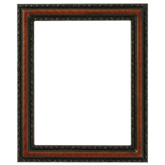 Dorset Rectangle Frame # 462 - Vintage Walnut