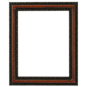 Dorset Rectangle Frame # 462 - Vintage Walnut