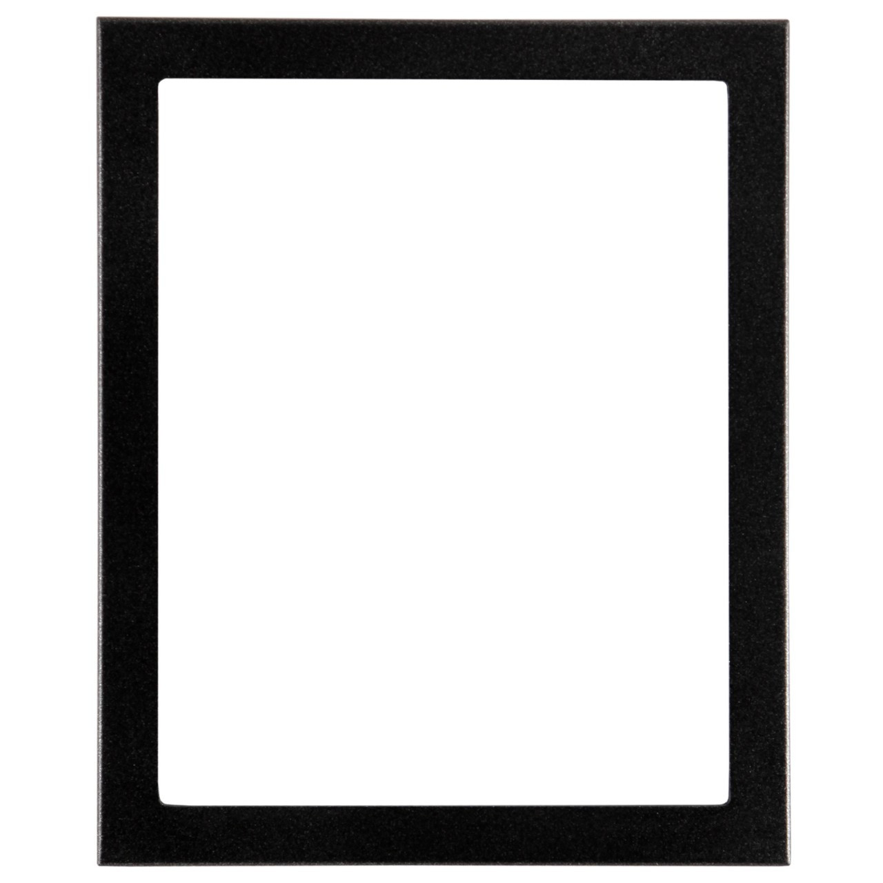Rectangle Frame In Black Silver Finish Black Picture