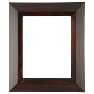 Veneto Rectangle Frame # 485 - Mocha