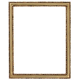 Virginia Rectangle Frame # 553 - Gold Leaf
