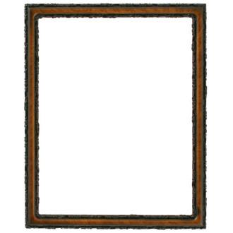 Virginia Rectangle Frame # 553 - Vintage Walnut