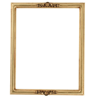 Contessa Rectangle Frame # 554 - Gold Leaf