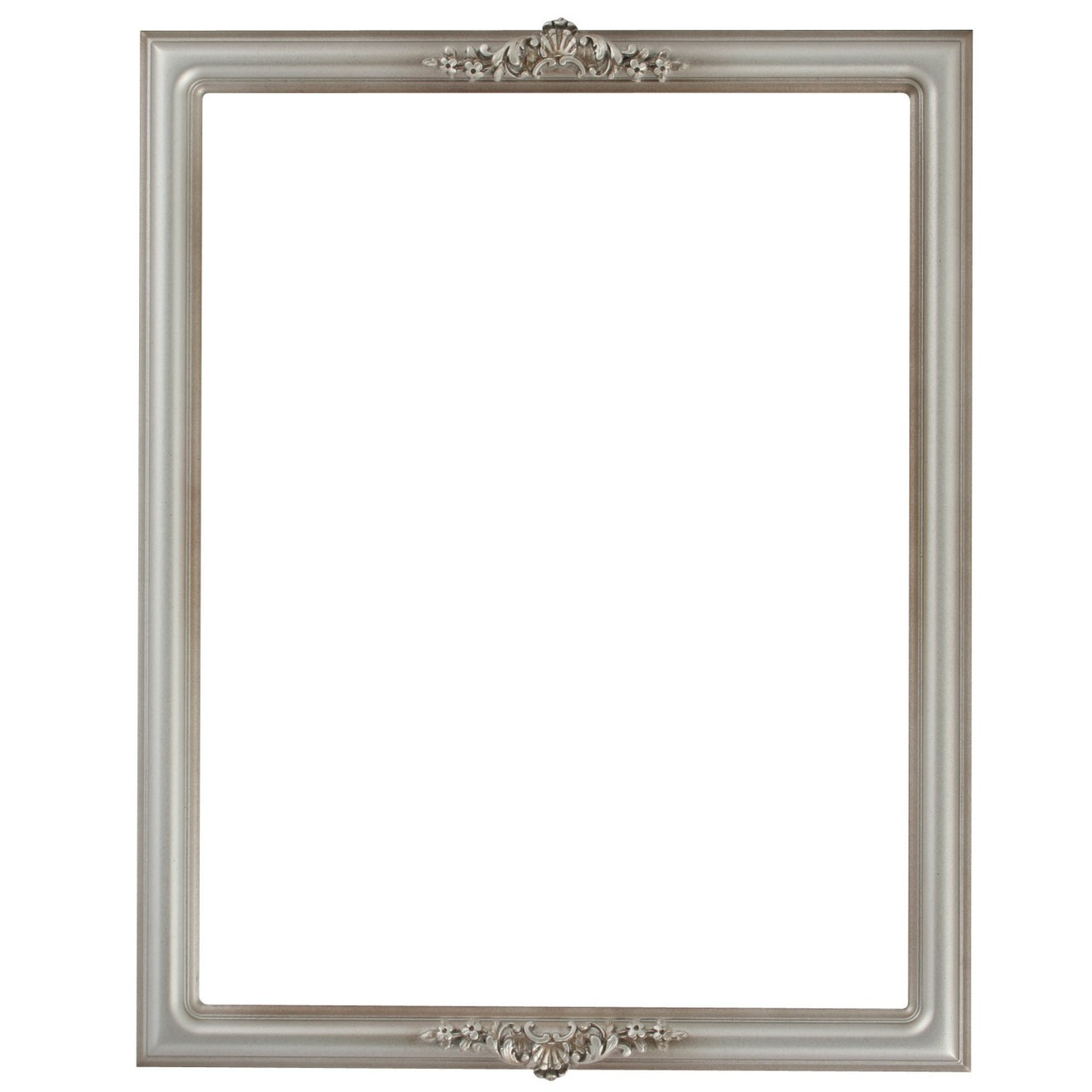 Rectangle Frame In Silver Shade Finish Dark Silver