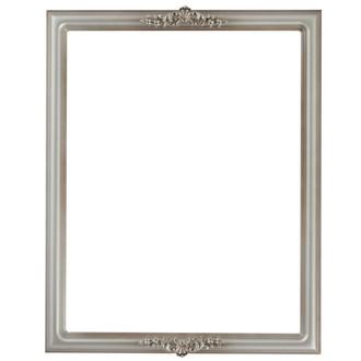 Contessa Rectangle Frame # 554 - Silver Shade