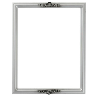 Contessa Rectangle Frame # 554 - Silver Spray