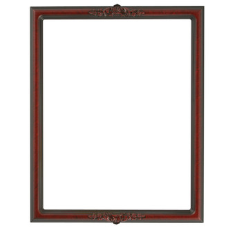 Contessa Rectangle Frame # 554 - Vintage Cherry