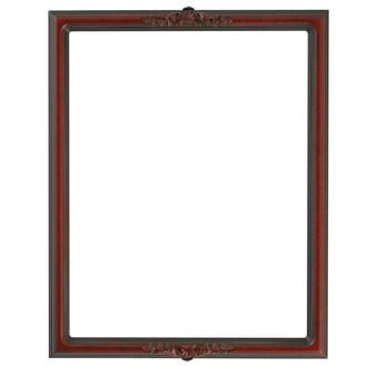 Contessa Rectangle Frame # 554 - Vintage Cherry