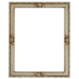 Jefferson Rectangle Frame # 601 - Silver
