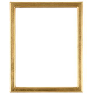 Toronto Rectangle Frame # 810 - Gold Leaf