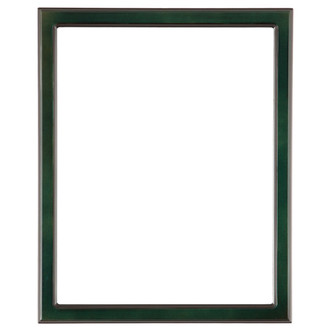 Toronto Rectangle Frame # 810 - Hunter Green