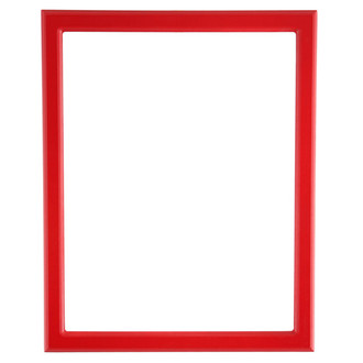 Toronto Rectangle Frame # 810 - Holiday Red