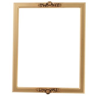 Athena Rectangle Frame # 811 - Gold Spray