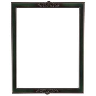 Athena Rectangle Frame # 811 - Hunter Green