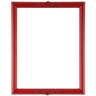 Athena Rectangle Frame # 811 - Holiday Red