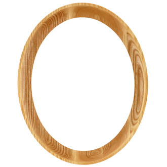 Vancouver Oval Frame # 100 - Honey Oak