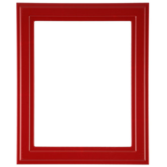 Wright Rectangle Frame # 820 - Holiday Red