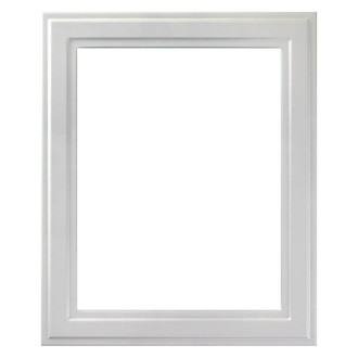 Wright Rectangle Frame # 820 - Linen White