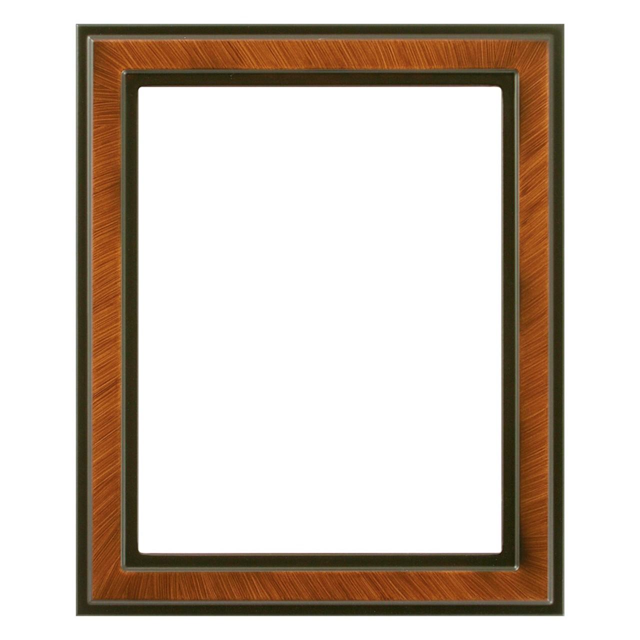 Neil Enterprises Inc 4 x 6 Walnut Wood Picture Frame