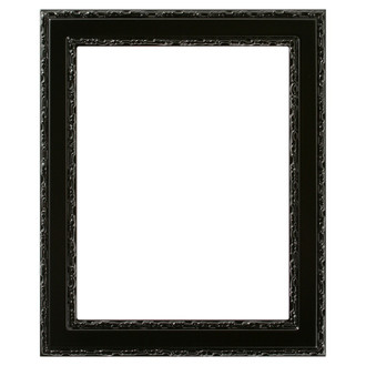 Monticello Rectangle Frame # 822 - Gloss Black
