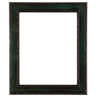 Monticello Rectangle Frame # 822 - Hunter Green